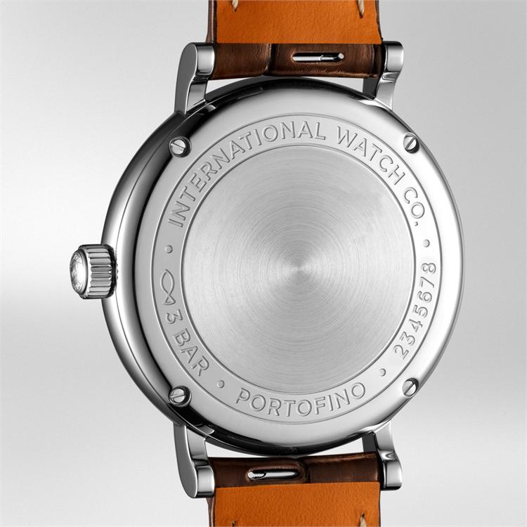 IWC Portofino Automatic 34  IW357403 34mm, Silver Dial, Baton/Roman Numerals_3