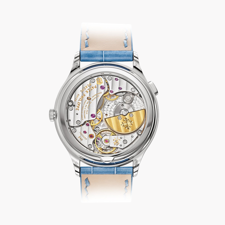 Patek Philippe Complications  7130G-016 36mm, Blue Dial, Baton Numerals_2