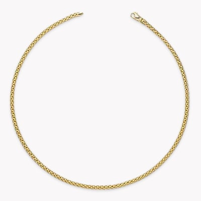 Fope Eka Necklace in 18CT Rose Gold _1