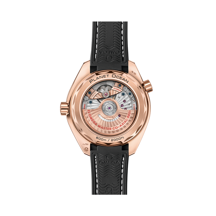 OMEGA Seamaster Planet Ocean 600m  O21563402013001 43.5mm, Chocolate Dial, Arabic/Baton Numerals_2
