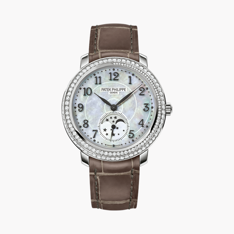 Patek Philippe Complications  4968G-010 33.3mm, White Mother of Pearl Dial, Arabic Numerals_1