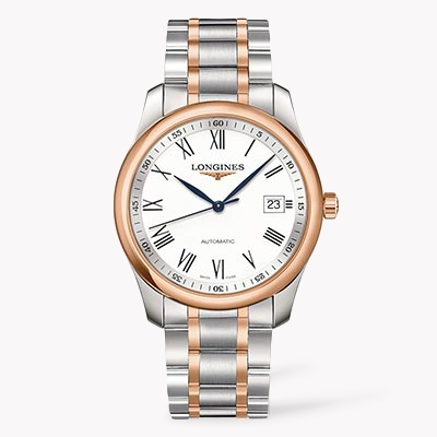 Longines Master collection   L2.793.5.11.7 40mm, White Dial, Roman Numerals_1
