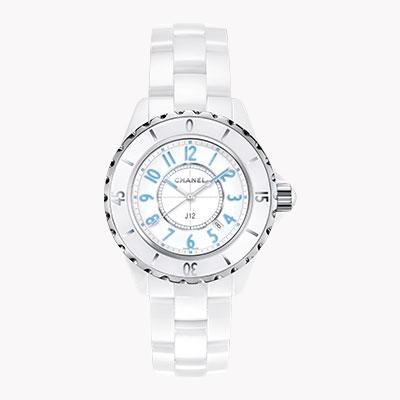 Chanel J12   H3826 33mm, White Dial, Arabic Numerals_1