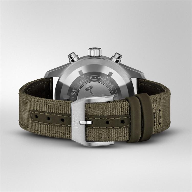 IWC Pilot's Spitfire Chronograph  IW387901 41mm, Black Dial, Arabic Numerals_4