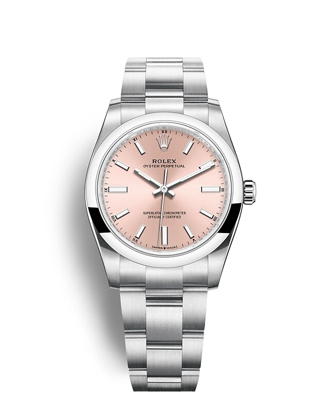 Oyster Perpetual 34 Oyster, 34 mm, Oystersteel