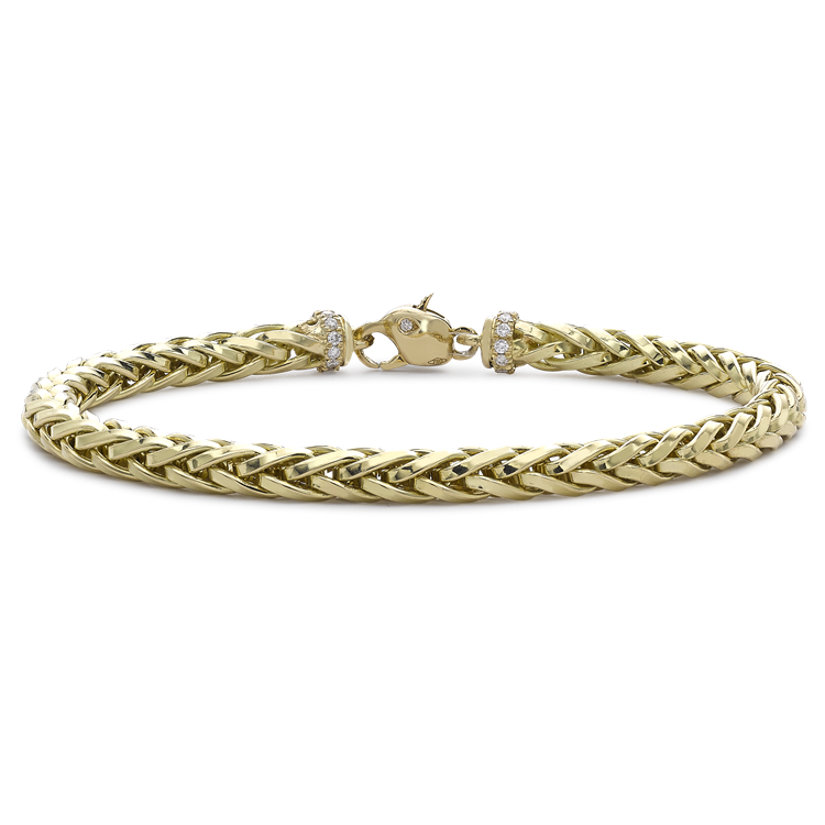 Skyfall 19cm Medium Chain Bracelet<br /> in 18CT Yellow Gold