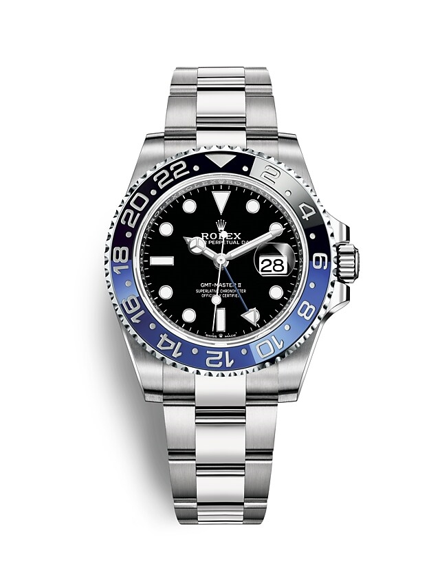 GMT-Master II Oyster, 40 mm, Oystersteel