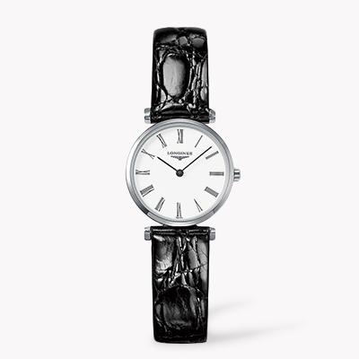 Longines La Grande Classique de Longine   L4.209.4.11.2 24mm, White Dial, Roman Numerals_1