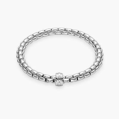 Fope Flex'it Bracelet in 18CT White Gold _1