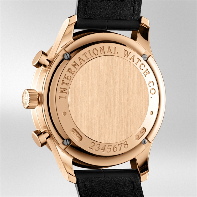 IWC Portugieser Chronograph  IW371482 40.9mm, Grey Dial, Arabic Numerals_3