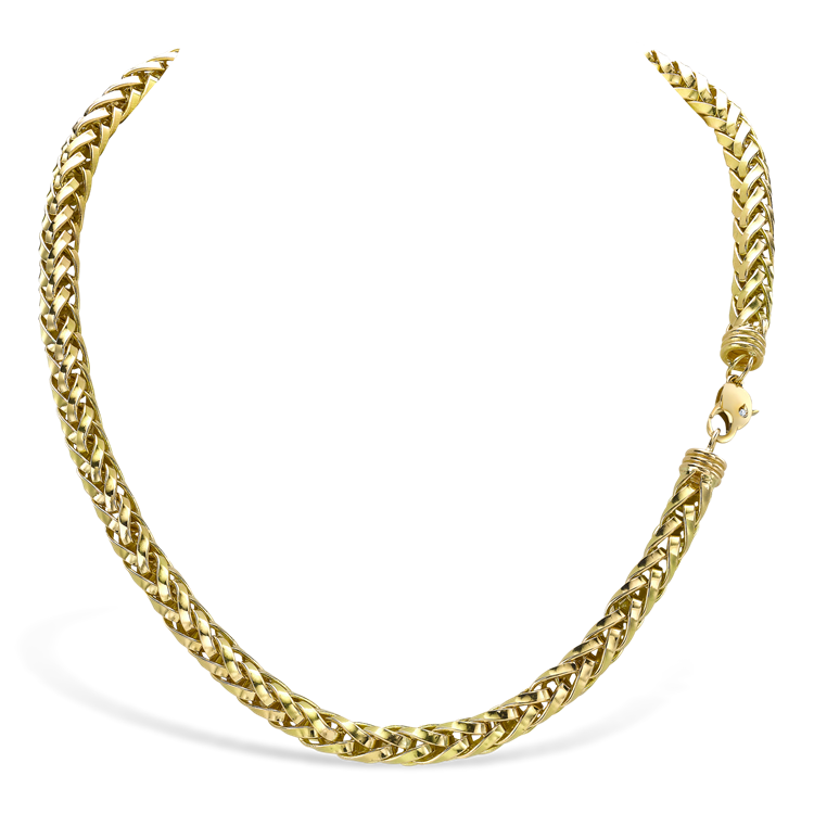 Skyfall 42cm Heavy Chain Necklace in 18CT Yellow Gold