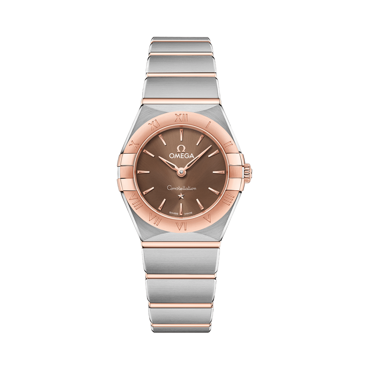 OMEGA Constellation  O13120256013001 25mm, Brown Dial, Baton Numerals_1