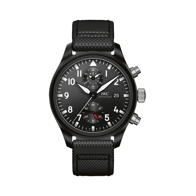 IWC Pilot's Top Gun Chronograph  IW389001 44mm, Black Dial, Arabic Numerals_1