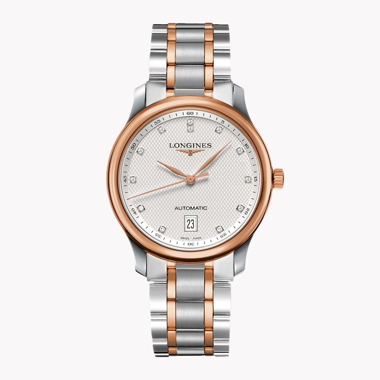Longines Master collection   L2.628.5.97.7 38.5mm, Silver Dial, Diamond Numerals_1