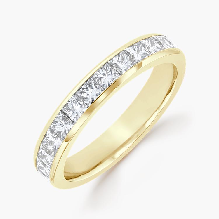 Princess Cut Diamond Eternity Ring 2.33CT in 18CT Yellow Gold Princess Cut, Eternity, Channel Set_1