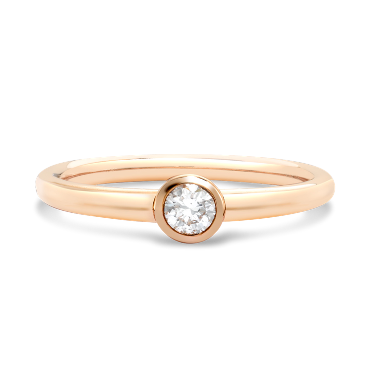 Sundance Diamond Ring 0.15CT in 18CT Rose Gold