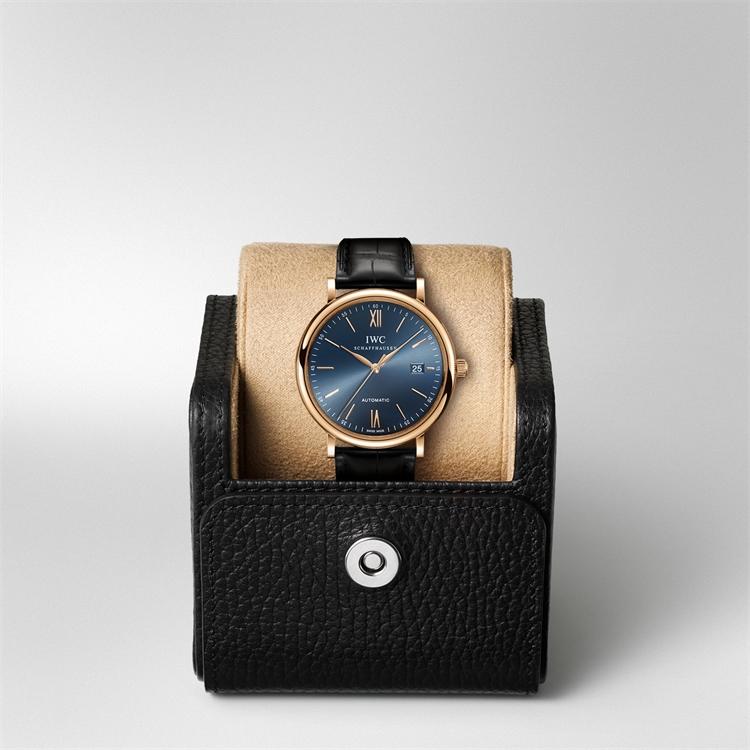 IWC Portofino Automatic  IW356522 40mm, Blue Dial, Baton Numerals_5