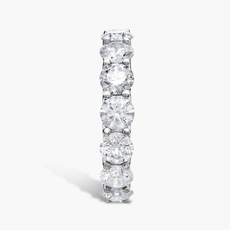 Brilliant Cut Diamond Eternity Ring 6.21CT in Platinum Brilliant Cut, Eternity, Claw Set_4