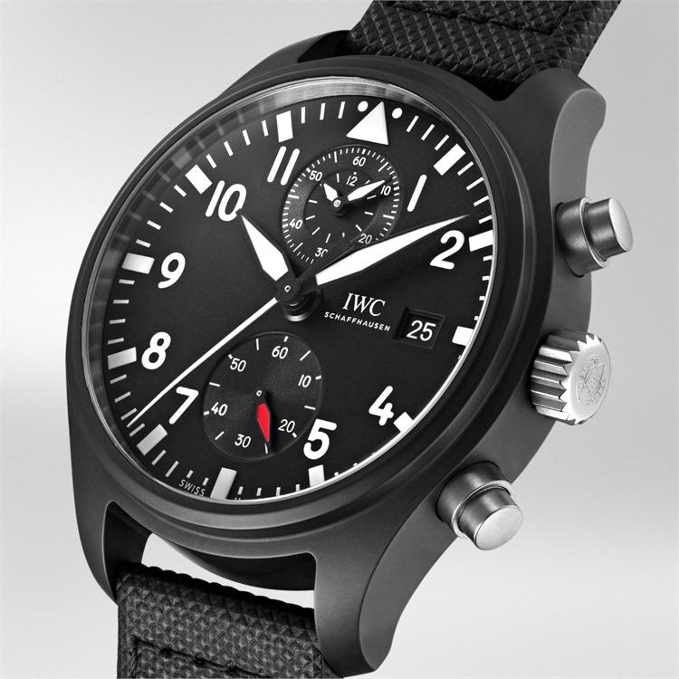 IWC Pilot's Top Gun Chronograph  IW389001 44mm, Black Dial, Arabic Numerals_2