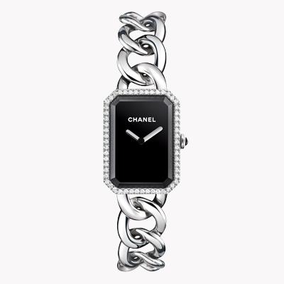 Chanel Première   H3254 20mm, Black Dial, Plain Numerals_1