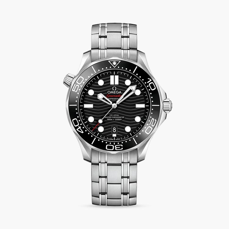 Seamaster Diver 300m  O21030422001001 42mm, Black Dial, Baton Numerals_1