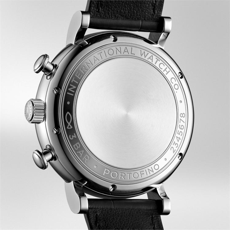IWC Portofino Chronograph  IW391031 42mm, Silver Dial, Baton Numerals_3
