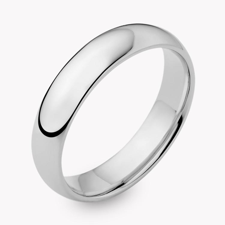 5mm Light Court Wedding Ring in Platinum _1