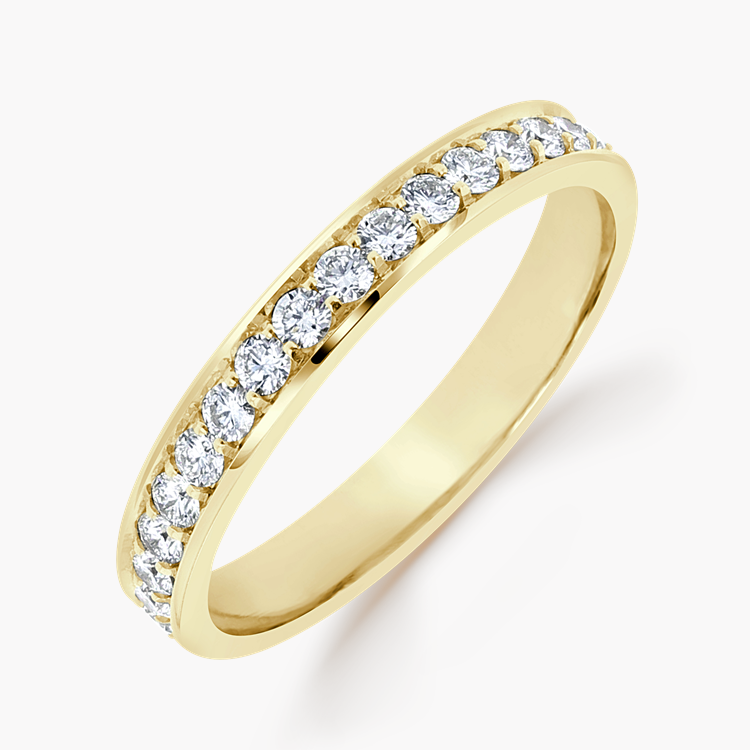 Brilliant Cut Diamond Eternity Ring 0.92CT in 18CT Yellow Gold Brilliant Cut, Eternity, Thread Set_1