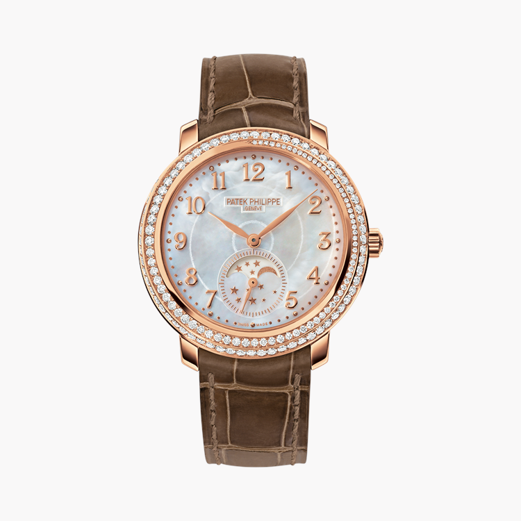 Patek Philippe Complications  4968R-001 33.3mm, White Mother of Pearl Dial, Arabic Numerals_1