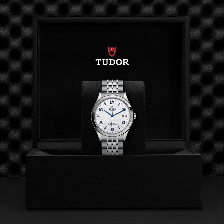 Tudor 1926  M91650-0005 41mm. Silver Dial. Arabic/Baton Numerals_3