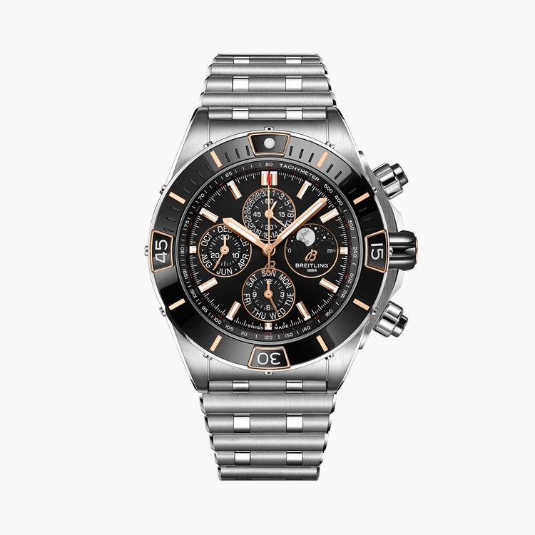 Breitling Super Chronomat 44 Four-Year Calendar  AB0136161C1A1 44mm, Black Dial_1