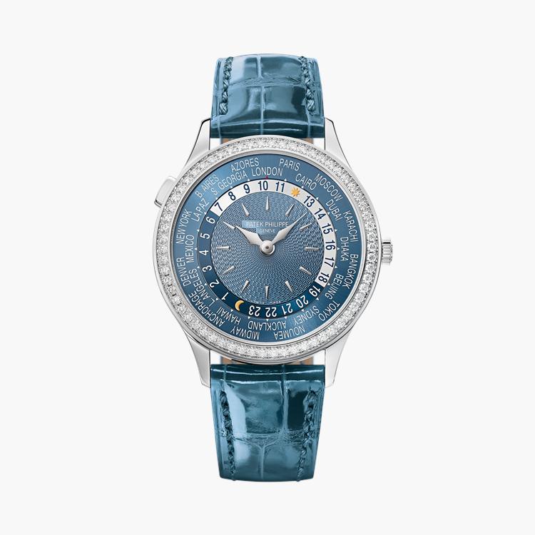 Patek Philippe Complications  7130G-016 36mm, Blue Dial, Baton Numerals_1