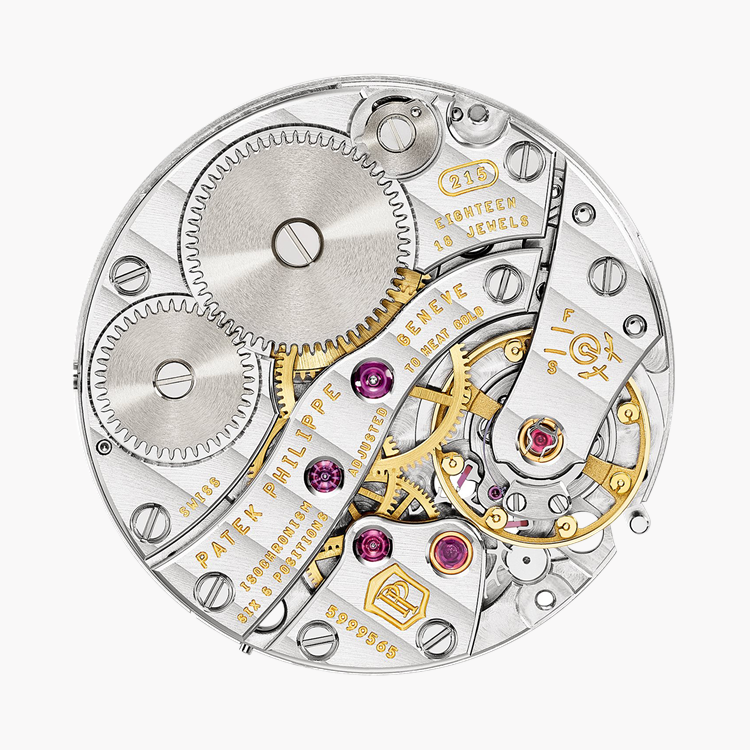 Patek Philippe Complications  4968R-001 33.3mm, White Mother of Pearl Dial, Arabic Numerals_4