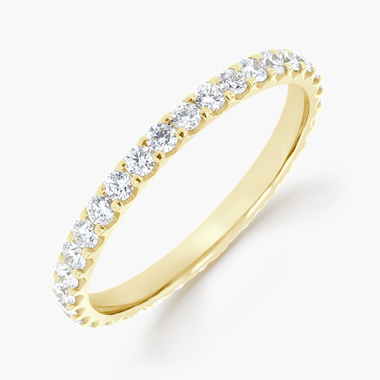 Brilliant Cut Diamond Eternity Ring 0.76CT in 18CT Yellow Gold