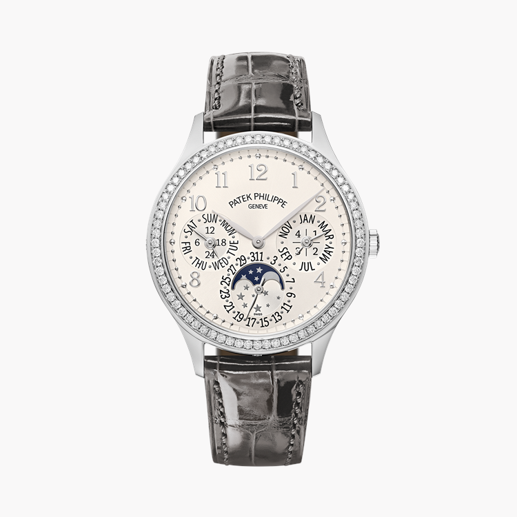 Patek Philippe Grand Complications  7140G-001 35.1mm, Silver Dial, Arabic Numerals_1