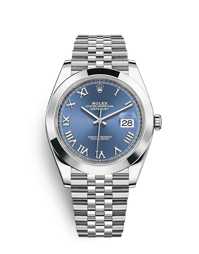 Datejust 41 Oyster, 41 mm, Oystersteel