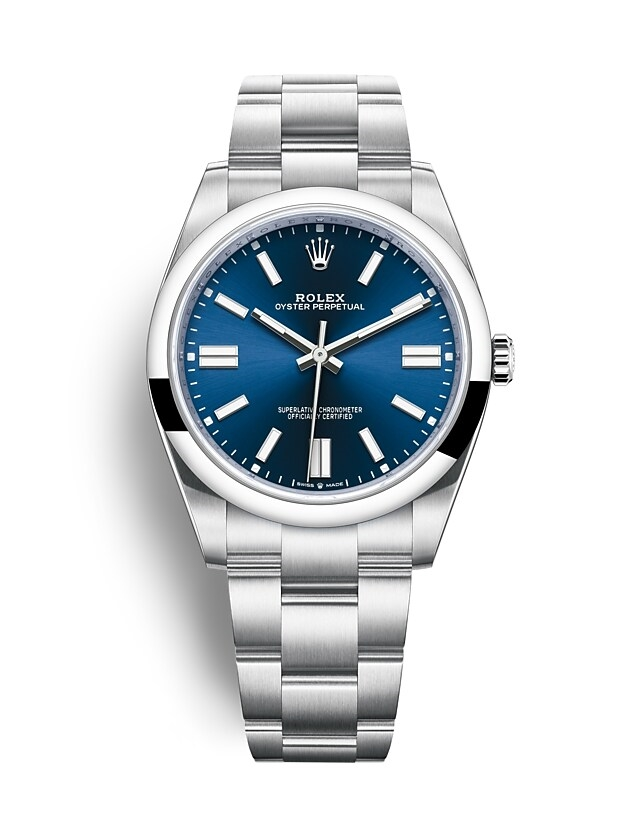 Oyster Perpetual 41 Oyster, 41 mm, Oystersteel