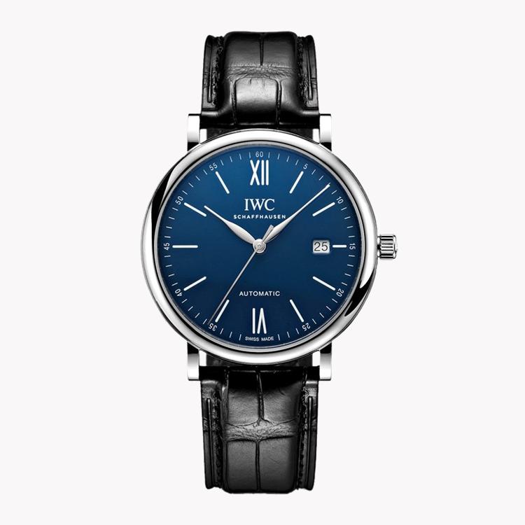 IWC Portofino Chronograph Edition '150 years'  IW356518 40mm, Blue Dial, Arabic/Roman Numerals_1