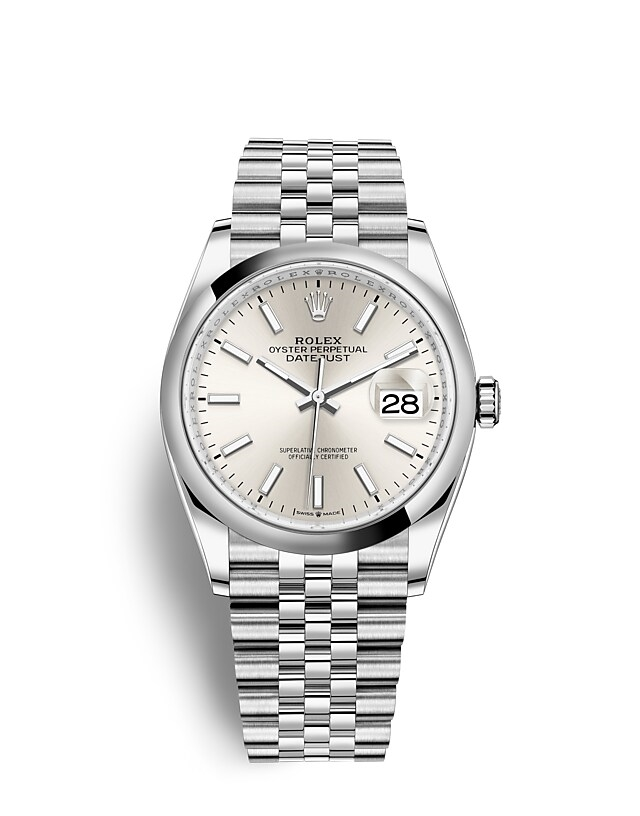 Datejust 36 Oyster, 36 mm, Oystersteel