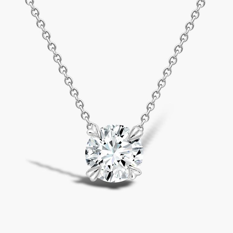 Windsor Diamond Pendant 2.01CT in 18CT White Gold