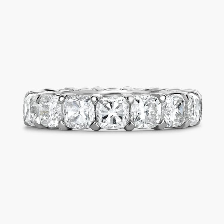 Cushion Cut Diamond Eternity Ring 6.20CT in Platinum Cushion Cut, Eternity, Claw Set_2