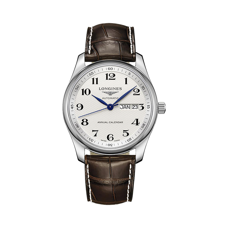 Longines Master collection   L2.910.4.78.3 40mm, Silver Dial, Arabic Numerals_1