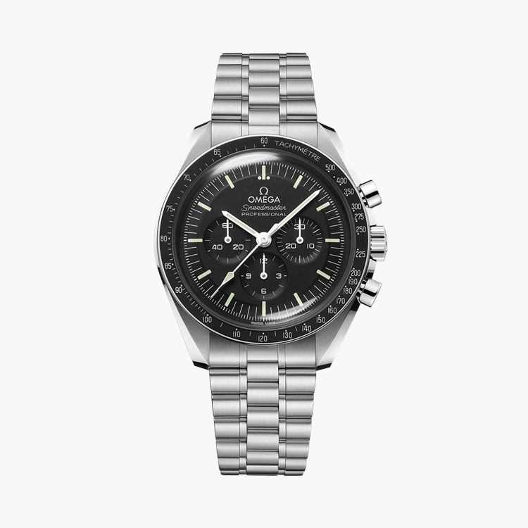 OMEGA Speedmaster Moonwatch Professional Co-Axial Master Chronometer O31030425001001 42mm, Black Dial, Baton Numerals_1