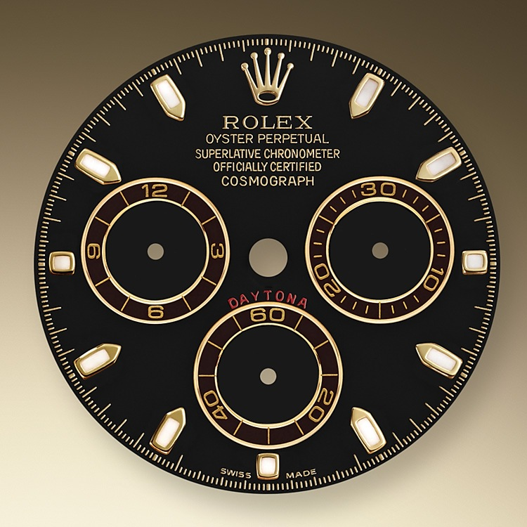 This model's Black dial with snailed counters features 18 ct gold applique hour markers and hands in Chromalight, a highly-legible luminescent material. The central sweep seconds hand allows an accurate reading of 1/8 second, while the two counters on the dial display the lapsed time in hours and minutes. Drivers can accurately map out their track times and tactics without fail.