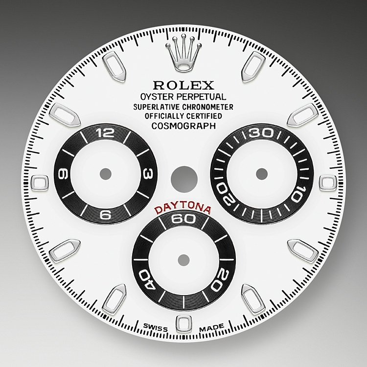 This model's White dial with snailed counters features 18 ct gold applique hour markers and hands in Chromalight, a highly-legible luminescent material. The central sweep seconds hand allows an accurate reading of 1/8 second, while the two counters on the dial display the lapsed time in hours and minutes. Drivers can accurately map out their track times and tactics without fail.